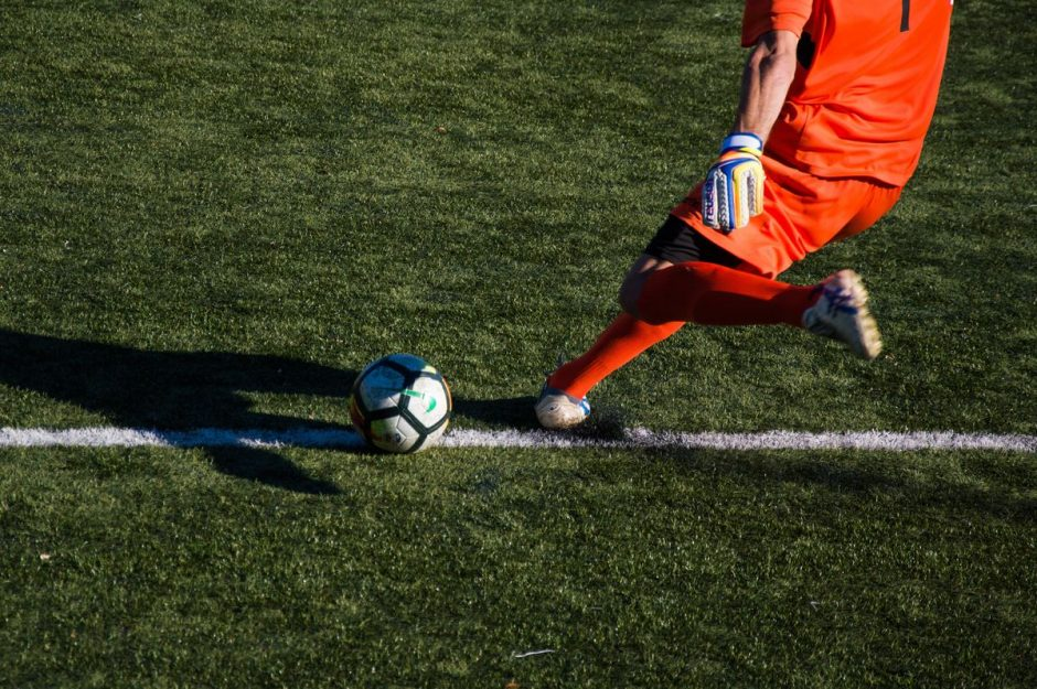 desafios do jogador de futebol