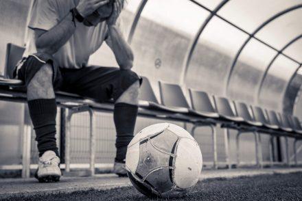 depressão no futebol