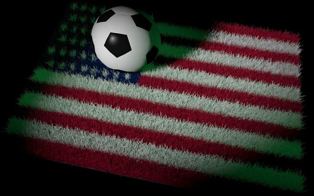 jogar futebol nos Estados Unidos